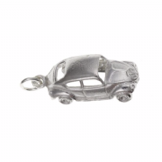 Sterling Silver VW Beetle Charm